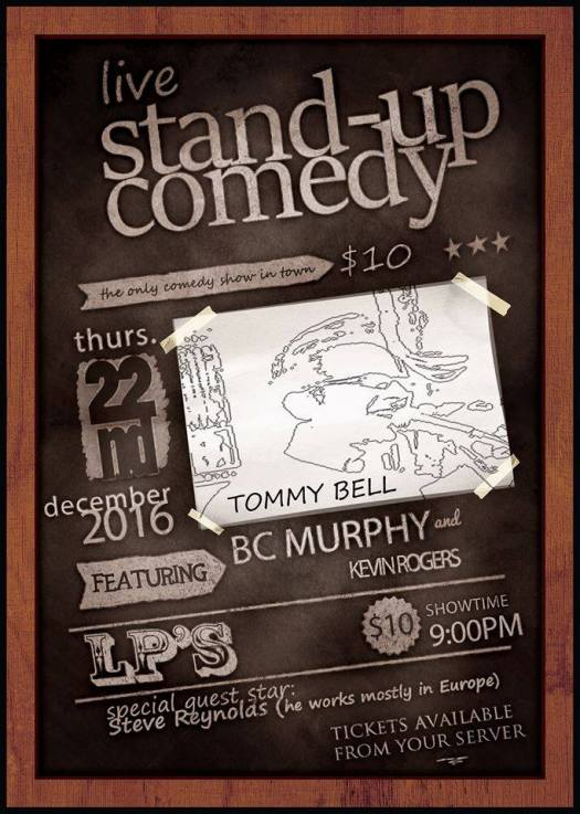 Tommy Comedy poster